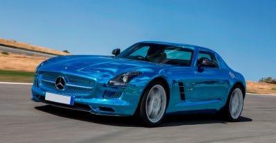 Mercedes SLS AMG Electric Drive Тюнинг